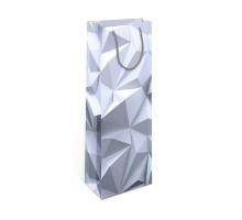 Бумажный подарочный пакет, 12х36см, 0294.205, Абстракция, АртДизайн