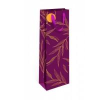 Бумажный подарочный пакет, 12х36см, 0597.506, Премиум с золотом, АртДизайн