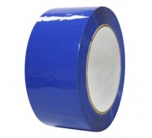 Лента упаковочная (скотч), 48 мм х 50 м, синяя