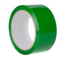 Лента упаковочная (скотч), 48 мм х 50 м, зеленая