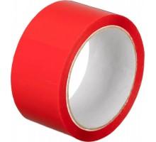 Лента упаковочная (скотч), 48 мм х 50 м, красная