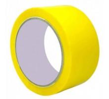 Лента упаковочная (скотч), 48 мм х 50 м, желтая