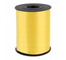 Лента полипропиленовая, 0.5см, 500 ярд, желтая