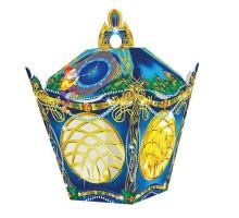 Новогодняя подарочная коробка Фонарик №9, 300 грамм