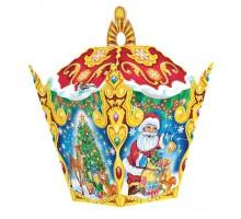 Новогодняя подарочная коробка Фонарик №8, 300 грамм