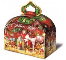 Новогодняя подарочная коробка Сундучок, 1000 грамм
