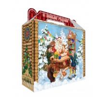Новогодняя упаковка Чемоданчик Мастерская Деда Мороза, 600 грамм, с игровым приложением
