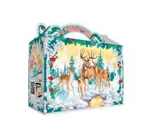 Новогодняя упаковка Чемоданчик Поздравление, 600 грамм, с игровым приложением