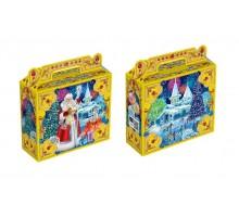 Новогодняя упаковка Чемоданчик Резиденция Деда Мороза, 600 грамм, с игровым приложением