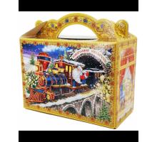 Новогодняя упаковка Чемоданчик Новогодний Экспресс, 700 грамм