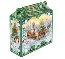 Новогодняя упаковка Чемоданчик Тройка, 700 грамм, с игровым приложением
