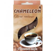 Свечи ароматизированные чайные CHAMELEON «Кофе», 6 шт, в гильзе