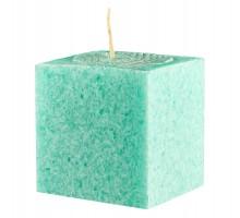 Свеча подарочная Куб, с ароматом Яблоко, 75мм, 350 грамм