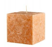 Свеча подарочная Куб, с ароматом Ваниль, 75мм, 350 грамм
