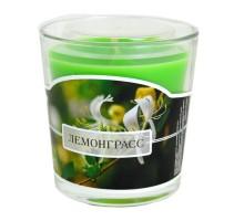 Ароматическая свеча в стакане Лемонграсс