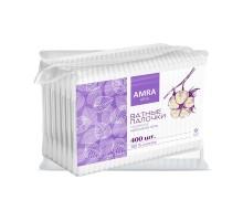 Ватные палочки Amra, 400 штук в упаковке