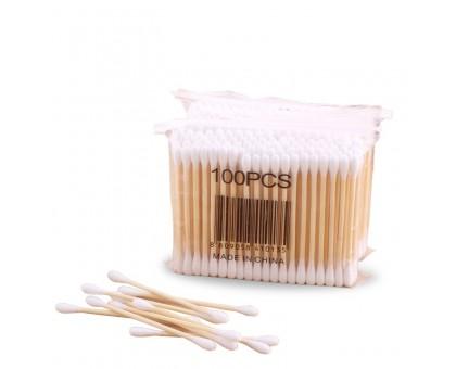 Ватные палочки на деревянной основе, 100 шт, 20 упаковок