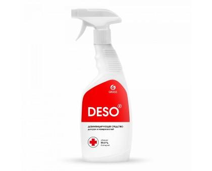 Средство дезинфицирующее DESO, 600мл, готовый состав