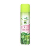 Освежитель воздуха GOLD WIND Зелёная трава, 300 мл