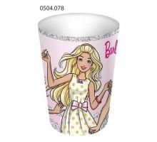 Стакан бумажный, 250мл, 0504078, Barbie, ArtDesign