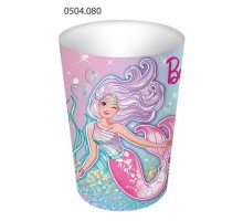 Стакан бумажный, 250мл, 0504080, Barbie, ArtDesign