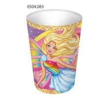 Стакан бумажный, 250мл, 0504083, Barbie, ArtDesign