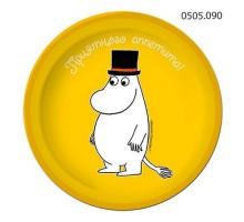 Тарелка бумажная Moomin, 180мм, 0505090, ArtDesign