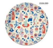 Тарелка бумажная Moomin, 230мм, 0506089, ArtDesign