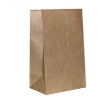Крафт пакет (пакет бумажный), 140*290 мм, без ручек