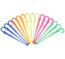 Пика декоративная «Зонтик», пластиковая, 85 мм, 300 шт