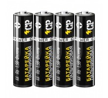 Батарейка солевая CP (CRAZYPOWER), R3 (ААА), 1.5В, 4шт/уп