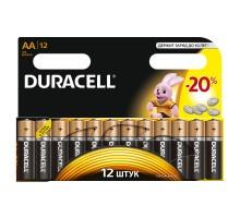 Батарейка щелочная Duracell АА/LR6, 12 шт/уп
