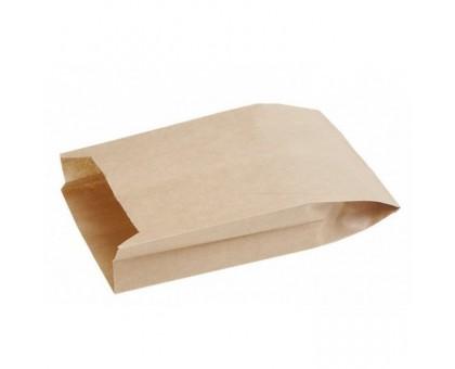 Пакет бумажный для пищевых продуктов, 170х70х300мм, с плоским дном