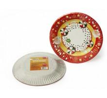 Бумажные тарелки Paterra Детский праздник, 180 мм