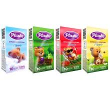 Бумажные носовые платочки Plushe Classic, 10шт/уп