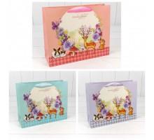 Пакет подарочный, детский, 32х26х11см, Замок принцессы, Secret Garden
