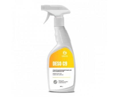 Дезинфицирующее средство DESO C9 на основе изопропилового спирта, 600 мл