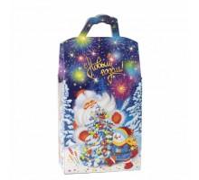 Новогодняя подарочная коробка Традиция, 1000 грамм