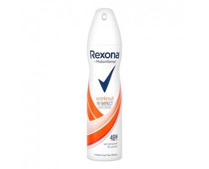 Дезодорант женский REXONA WORKOUT, Высокоэффективный контроль запаха, 150 мл
