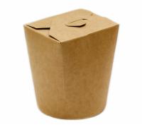 Коробка для лапши WOK, крафт картонная, 450мл
