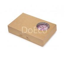 Контейнер под десерт ECO Donuts M д/пончиков
