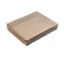 Контейнер под десерт с прозрачной крышкой Ukonf25 140х105х25