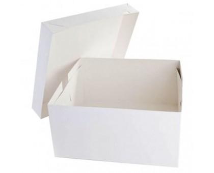 Короб для торта белый EB 350 320х320х350, Патичерри, DoECO
