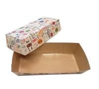 Упаковка для хот-догов, картофеля фри ECO HD ENJOY