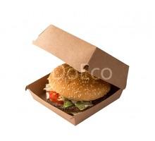 Короб под гамбургер ECO BURGER L Pure Kraft 120x120х70