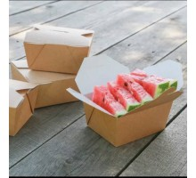 Контейнер картонный Eco Fold Box 900, 168х132х53мм, Doeco