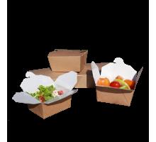 Контейнер картонный Eco Fold Box 600, 110х90х65мм, Doeco
