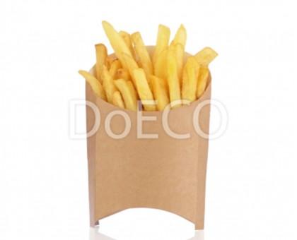 Упаковка для картофеля фри ECO FRY L, 126х40х135мм