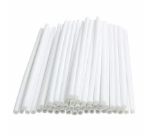Трубочка для сахарной ваты, 8мм, 38см, 500 штук в упаковке