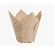 Бумажная форма для маффинов Тюльпан, 50х90мм, КАКАО, 200 штук\уп
